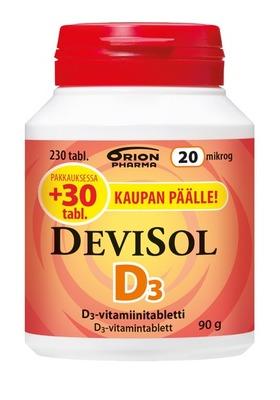 DeviSol 20 mikrog 230 tabl.