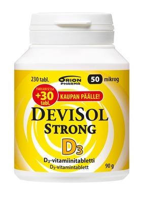 DeviSol Strong 50 mikrog 230 tabl.