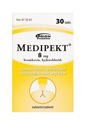 Medipekt 8 mg 30 tabl 4