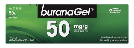 BuranaGel 50mg 50g 1LR