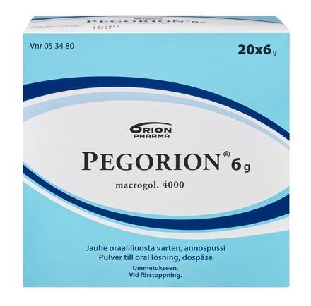 Pegorion 20x6g