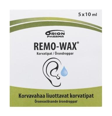 Remowax 5x10ml Tipat Pakkaus Etu