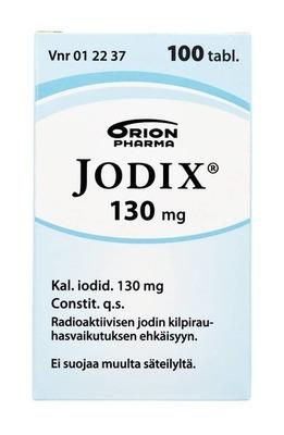 Jodix 130mg 100tabl