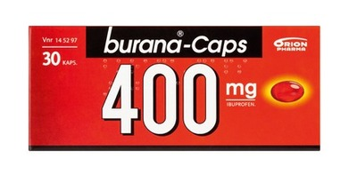 Burana Caps 400 mg 30