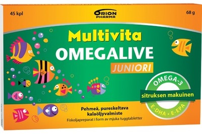 Multivita Omegalive Juniori 45