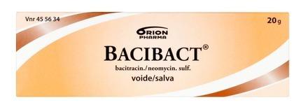 Bacibact 20g Pakkaus Edesta