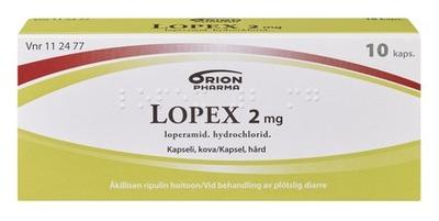 Lopex 2 Mg 10 Kaps