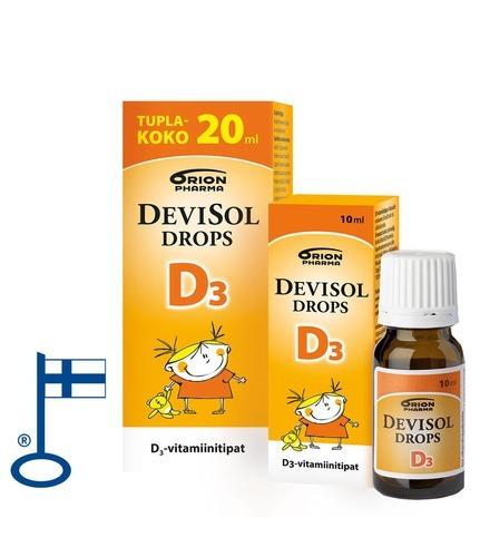 Devisol Drops D3 10 Ja 20 Ml Flag