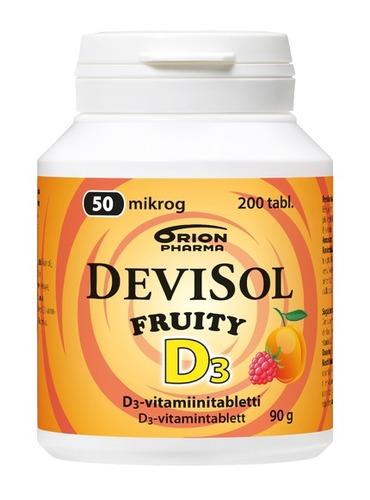 DevisolFruity 50mcg 200tabl