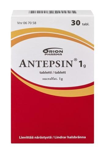 ANTEPSIN 1g 30 Tabl