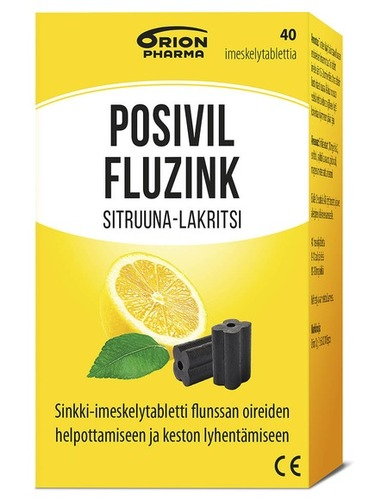 PosivilFluzink Sitruunalaku Pakkaus Oikealta