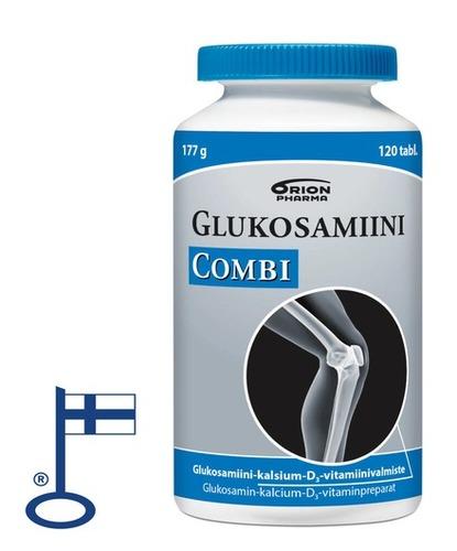 Glukosamiini Combi Purkki Flag