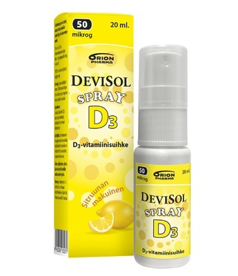 DeviSol Spray 50 mcg 20 ml