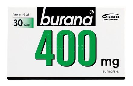 Burana 400 mg 30 tabl