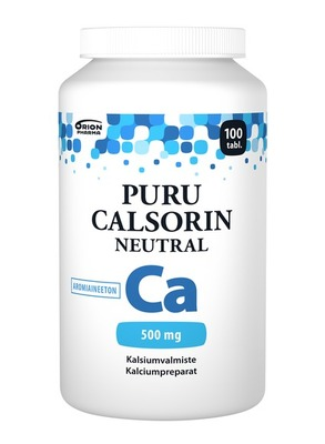 Puru Calsorin Neutral 500 mg