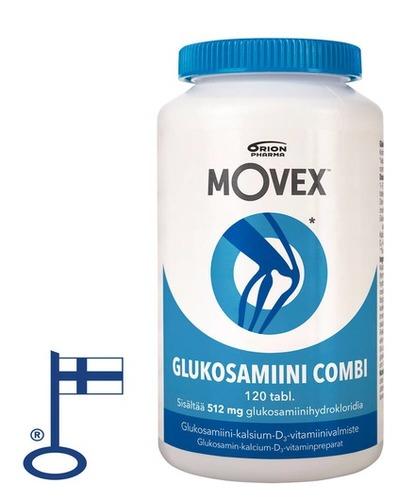 Movex Glukosamiini Combi 120tabl Flag[1]