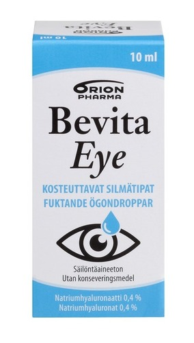 Bevita-eye 10ml Pakkaus Etu HRweb