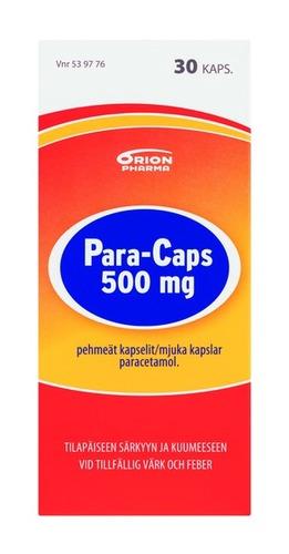 Para-Caps 500 mg 30 kaps