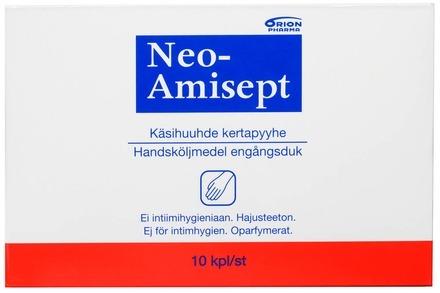 Neo-Amisept Käsihuuhde Pyyhe