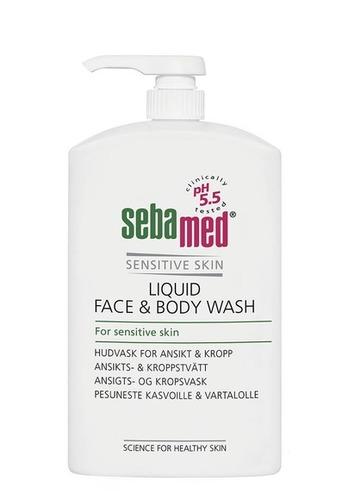 Sebamed Liquid Face-Body Pesuneste 1000ml Pumppu RGB