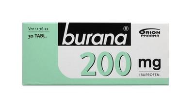 Burana 200 Mg 30 Tabl.