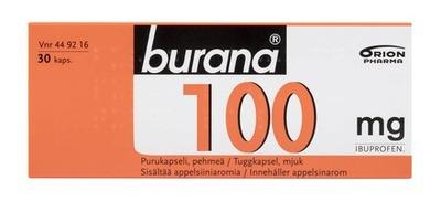 Burana 100 Mg 30 Purukapselia