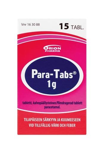 Para Tabs 1 g 15 tabl