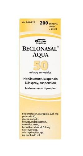 Beclonasal Aqua 50 4