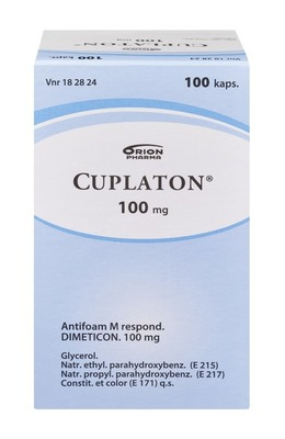 Cuplaton 100mg 100 Kaps