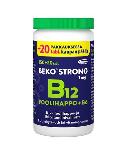 Beko Strong B12+foolihappo+B6 kampanja 150+20kpl